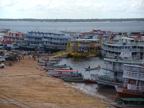 Ferry port in Manaus