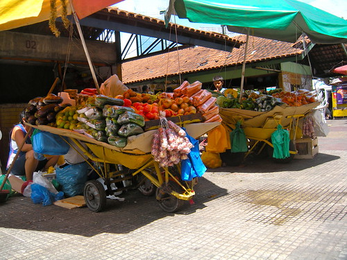 Fruit sellers in Manaus