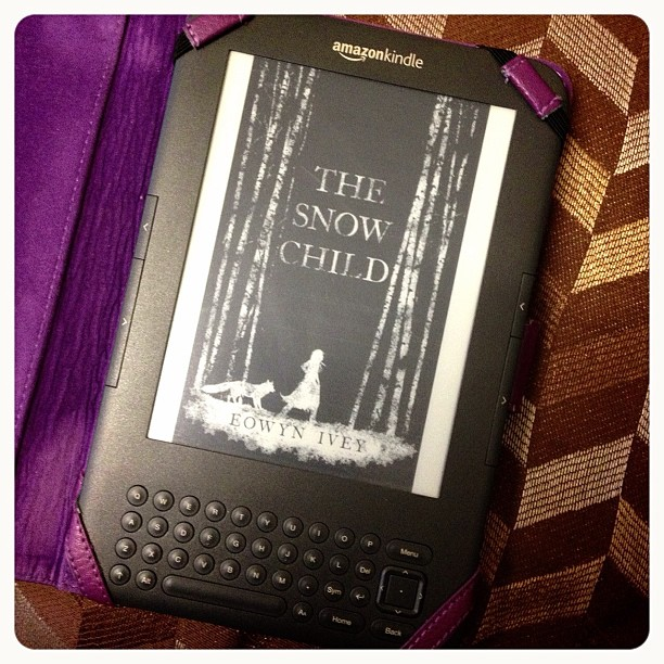 The last #book I've read in #2012 #kindle #thesnowchild