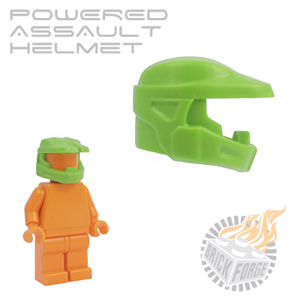 Powered Assault Helmet - Lime Green