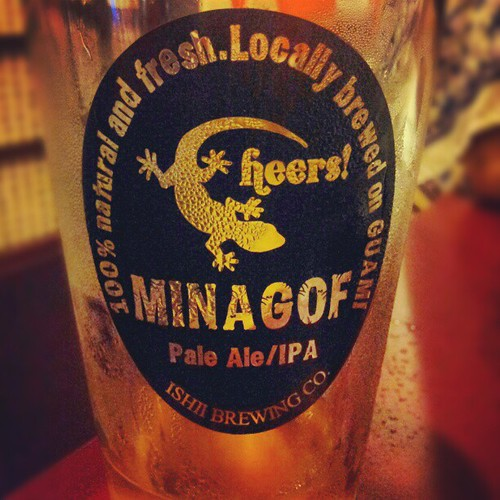 Aquesta birruscle estava tremendissima! #minagof#beer#guam#brewery#cervesa#birra