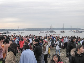 2013 Polar Bear Swim, English Bay