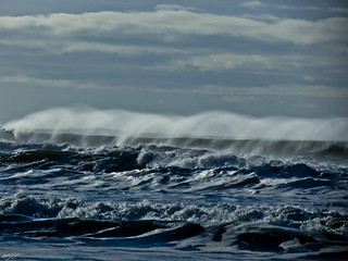 Waves and wind