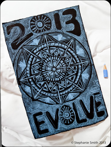 1st Mandala of 2013: Intention :: Evolve