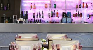 Lounge Eiffel, pop-up restaurant at Eiffel Tower, Paris
