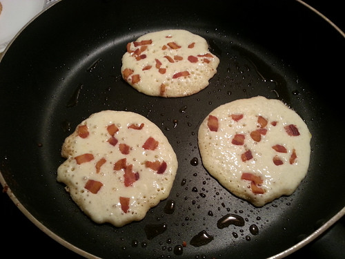 Makin' Bacon Pancakes