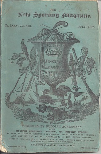 New Sporting Magazine, London - July, 1837