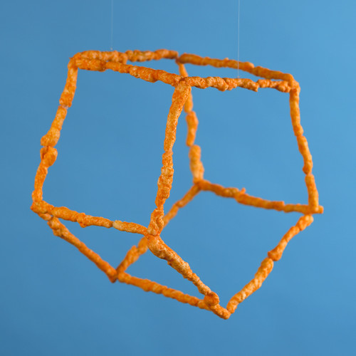 Cheeto Pentagonal Prism by Octopodal
