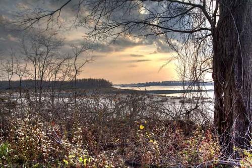 autumn day2 tree nature water horizontal river landscape warm dusk missouri week1 hdr overview 2012 missouriconservationareas