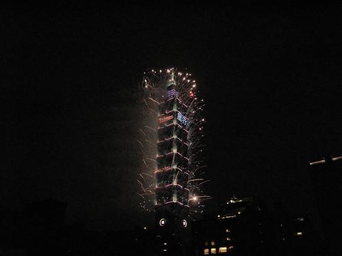 10.2013台北101新年煙火