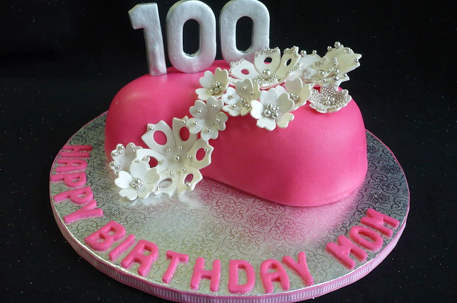 Iola 39 s 100th birthday cake flickr photo sharing for 100th birthday decoration ideas