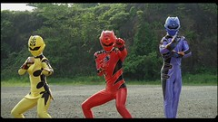 """a31b1e98 Movie spin-off of the """"Gekiranger"""" TV series (adapted into """"Power Rangers  Jungle Fury"""" for the western market)."""