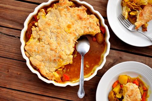 Good Girl Dinette's Chicken Curry Pot Pie