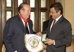 Aécio Neves e Nicolás Léoz - 15/07/2009