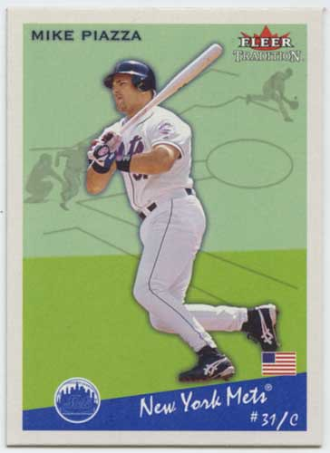 2002 Fleer Tradition Mike Piazza