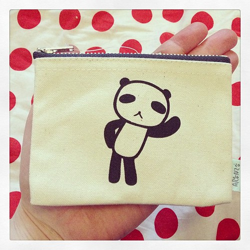 It's a little panda purse! So cute. Thank you Pei :)