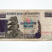 One Hundred Dollars Bill - Zimbabwe