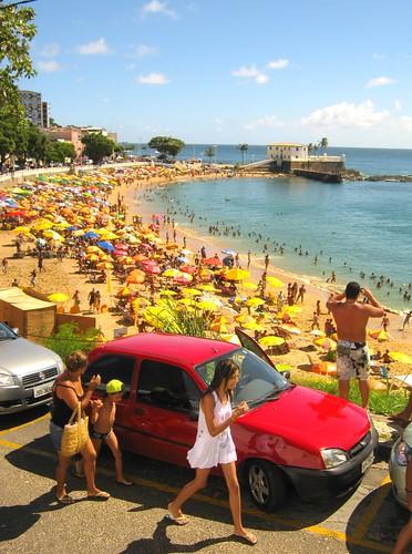 Praia da Barra, Salvador (Bahia), Brasil