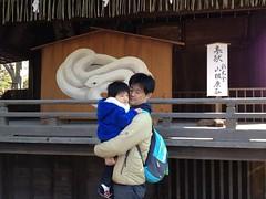 調神社にて 2013/1/13