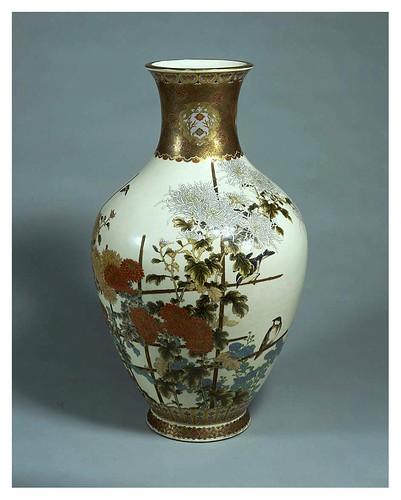 018-Florero- Era Mejii siglo 19-artista Yohe Obiyama-Cortesía del Tokyo National Museum