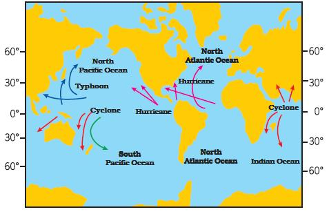 NCERT Class VII Science Chapter 8 Winds, Stroms and Cyclones