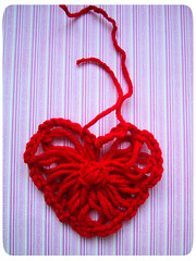 flower loom heart tutorial