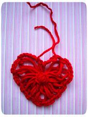 flower loom heart tutorial