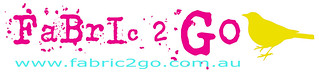 fabric 2 go heading pink text sm