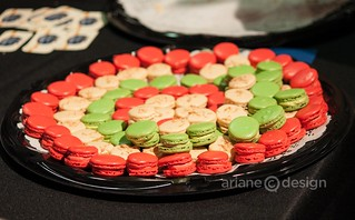 La Baguette & L'Echalote macarons at Plated and Paired