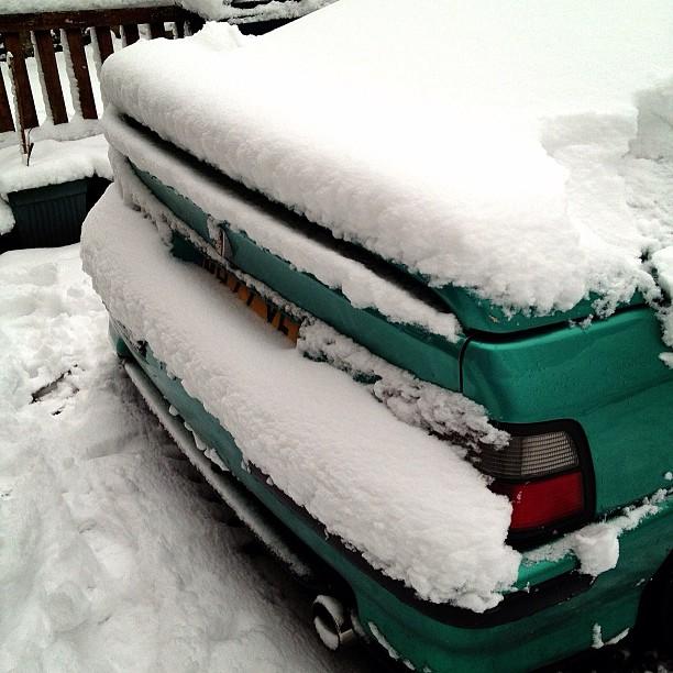 #snow #car