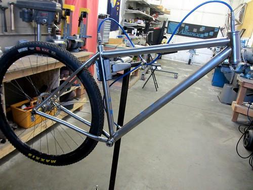CK's titanium 29er