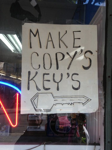 Make Copy's Key's