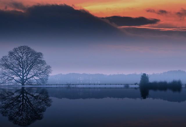 Severn river banks