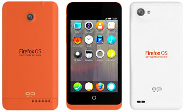 Firefox OS developer phones