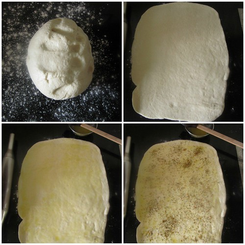 Herb & Cheese Pull-apart Loaf-step5