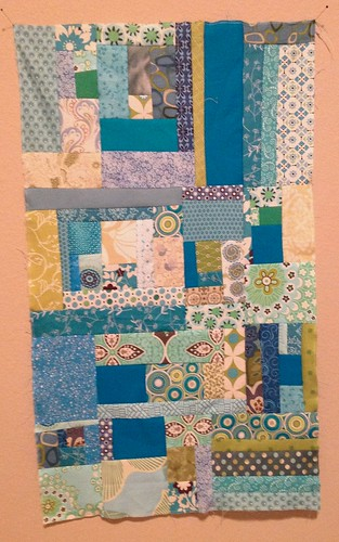 Sunday morning quilt bee January block