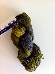 Malabrigo sock in Turner