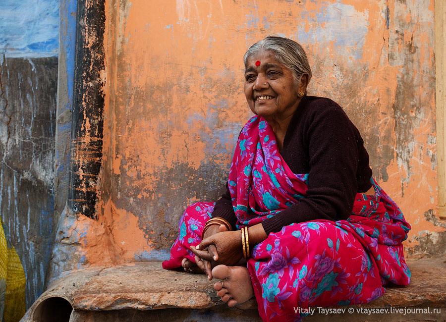 Old grandma, Jodhpur, India