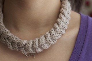 Cabled Necklace