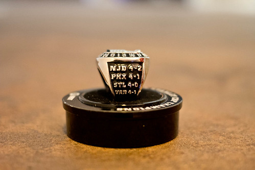 Other side view of SC replica ring