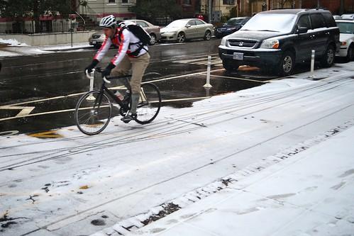 Snowy Cycletrack