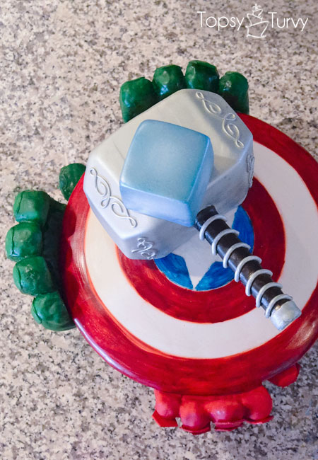 Cake Decorating Ideas Avengers : Avengers birthday cake Ashlee Marie