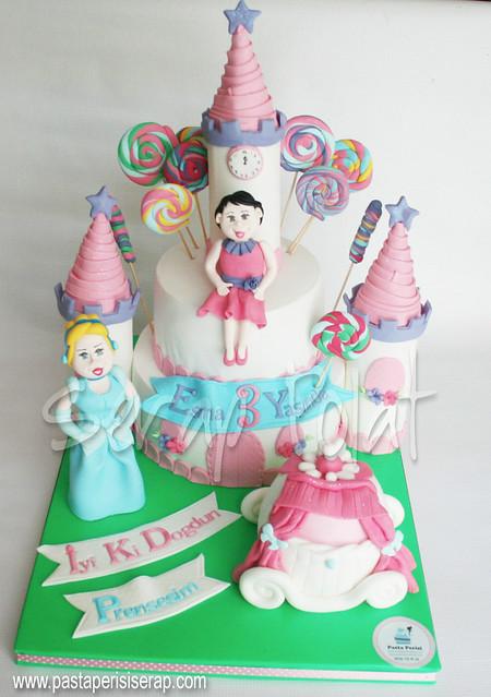 D,sney Prenses şato pastası