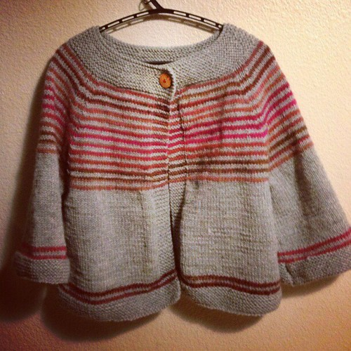 Done. Same cardi for @kaoridrome #knit