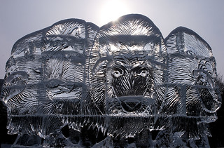 Ice Sculpture at Winterlude 2013