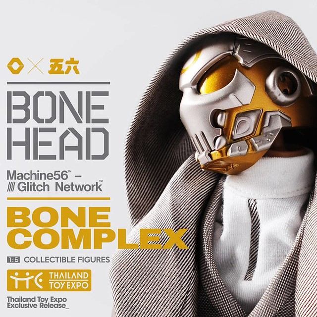 Machine56 × God Complex【Bonehead: Bone Complex】1/6 比例人偶作品
