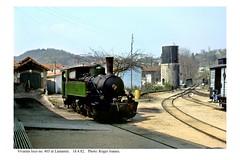 Lamastre. Steam loco 403. 18.4.82