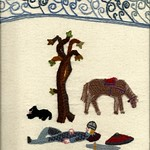 Lazing by the River, by Stamford Bridge Tapestry Project