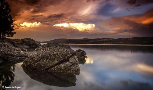 Sunset Albufeira de Vilar