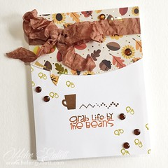 Fall Coffee Lovers Blog Hop - Paper Smooches